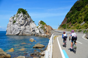 """Wakayama"" area start! Enjoy the ""Cycling Kingdom Wakayama"" with Kumano Kodo in Koyasan, luxurious 6 routes enjoying the blue sea and the clear stream!"