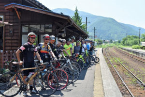 CWJ-AIZU/SHIRAKAWA01 Bike & Train along Aizu Rail Line