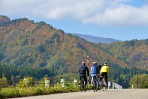 CWJ-AIZU/SHIRAKAWA03 Tadami Autumn Ride