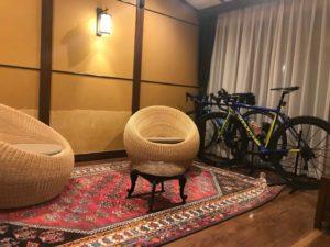 女性2人で那須の自転車旅~山水閣